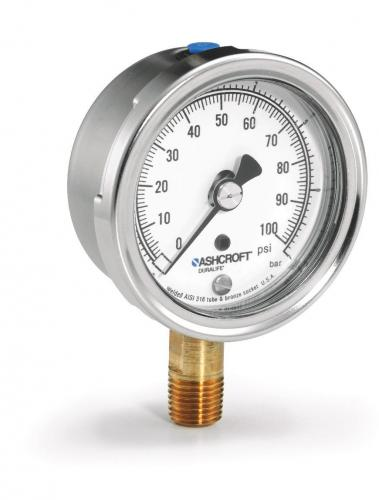 Ashcroft Compound Gauges : Ashcroft industrial pressure gauges duplex