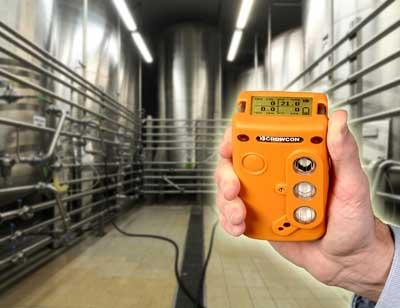 Portable Gas Detection By Crowcon Using The Crowcon T3