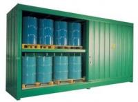 Darcy Spillcare Fully Enclosed Secure Drum & IBC Storage Unit