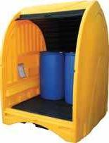 Darcy Spillcare SpillShak - Chemical Resistant & Weather Proof Drum Container Unit