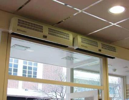 Dimplex Ac Air Heaters Over Door Heaters Air Curtains Surface Mounted Air Heaters