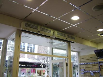 Dimplex Air Heaters Air Curtains Over Door Heaters