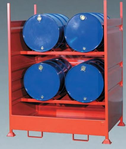 Empteezy Drum Spill Pallets - Steel Spill Containment Trays