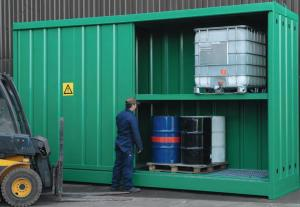 Primary Containers Safe Storage Of Drum IBCS Empteezy Drum