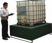 Empteezy IBC Spill Pallets - Steel Spill Containment Trays