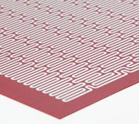 Etch Foil Silicone Rubber Insulated Heating Mats