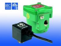 "Asco 327 Series Flameproof Solenoid Valve, 3-Way Direct Operated, High Flow, Balanced Poppet 1/4"" - 1/2"""