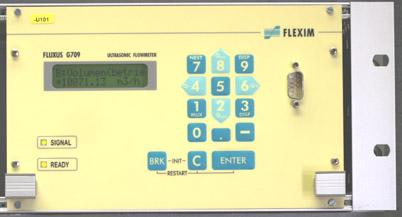 Flexim Fluxus G709 Permanent Ultrasonic Clamp-on Gas Flow Meters
