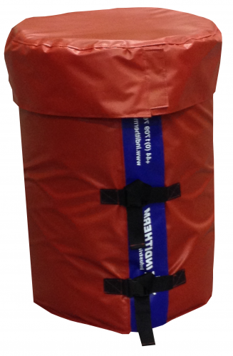 Delta 205 Litre Low Voltage Drum Heating Jackets - 24V Fixed Temperature Drum Heater Jackets