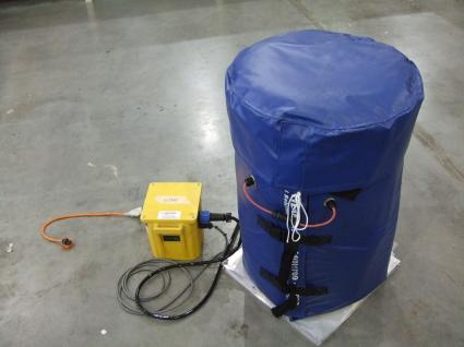 Low Voltage Drum Heating Jackets & Base Drum Heaters - 24V & 48V Drum Heating