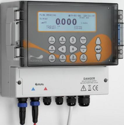 Ultrasonic Clamp On Flow Meters - Micronics Permanent Clamp On Flow Meters