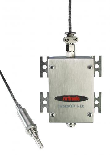 Rotronic HygroClip IE-3-EX Intrinsically Safe Humidity & Temperature Screw In Probe
