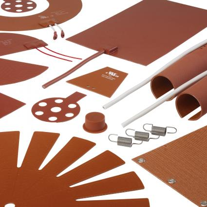 Wire Wound Silicone Rubber Insulated Heating Mats and Pads