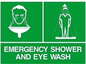 Safety Showers & Emergency Safety Eyewash Stations