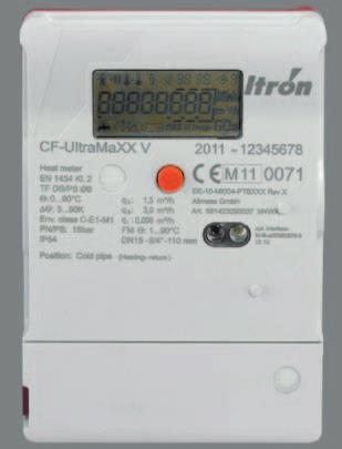 Itron CF-UltraMaxx V Heat Meter - Large Calculator