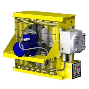 Explosion-Proof Heaters With ATEX, IECEx & EAC Ex Certifications