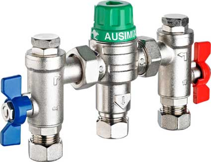 Reliance Water Controls Thermostatic Mixing Valves - Ausimix TMV