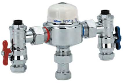 Reliance Water Controls Thermostatic Mixing Valves - Promix 22-2