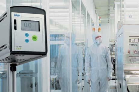 Dräger Polytron 7500 Continuously Monitors for NF3 & PFC Gases